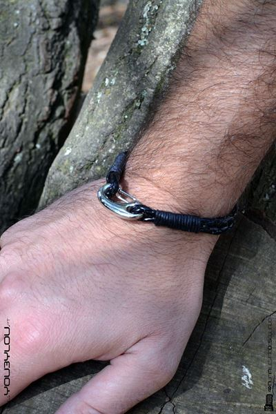 Picture of Pulseira Leather Hook (A)