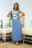Picture of Vestido LOVE azul ganga